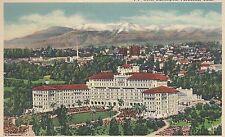 Hotel Huntington  Pasadena CA  8A-H103   Linen Postcard