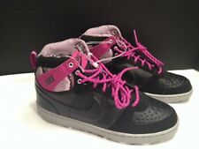 Nike Convention High JP [432103-050] NSW Black/Vivid Grape-Grey SZ 7.5 NWT