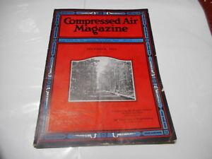 DEC 1924 - COMPRESSED AIR industrial magazine - great ads