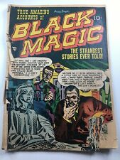 Black Magic #6 (1951) - Jack Kirby cover and story art Complete Lower Grade