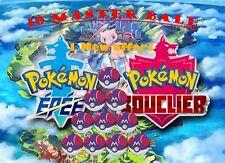 Pokémon - Master Ball x10 [Switch][épée/Bouclier] + 1 Mew