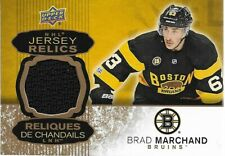 BRAD MARCHAND 2017-18 Tim Hortons Jersey Relic Redemption Boston Bruins