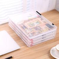 Durable A4 Plastique Fichiers-documents Boîte de rangement Porte pour l'école