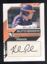 2011 In the Game ITG Heroes & Prospects Close Up Autograph Kyle Parker