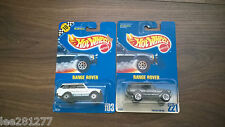 Authentic Hot Wheels Range Rovers 1990 & 1991 Genuine Cars
