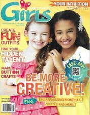 Discovery Girls Magazine Creativity Fun Outfits Hidden Talent Button Crafts 2012