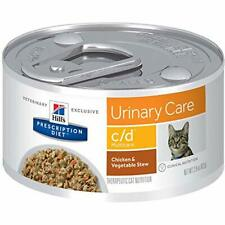 New listing Hill's Prescription Diet c/d Multicare Urinary Care Chicken & Vegetable Stew .