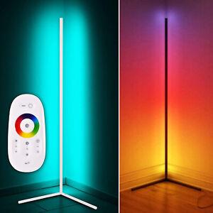 RGB Eckleuchte Stehlampe LED Stehleuchte Lichtsäule Farbwechsel Farbig Ecklampe