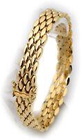 exklusives Armband echt Gold 585 Gelbgold 14 karat massiv Qualität Sonderpreis