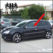 Strisce Cromate sotto finestrini Acciaio VW Golf V 5 raschiavetri Cornici vetri