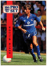 Kevin Wilson Chelsea #36 Pro Set Football 1990-1 Trade Card (C363)