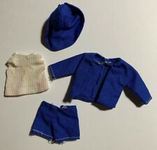 Fits Pepper Doll - Navy Blue Shorts & Jacket Outfit With Matching Hat - No Doll