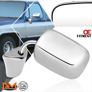 For 73-86 Chevy/GMC C/K Pickup Suburban OE Style Manual Side View Mirror LH/RH