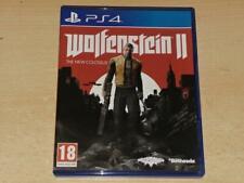 Wolfenstein 2 II PS4 - avec Boîtier FR