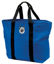 Norwegian Elkhound Embroidered All Purpose Tote