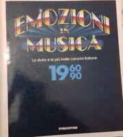 EMOZIONI IN MUSICA LA STORIA E LE PIU'BELLE CANZONI ITALIANE DI SANREMO 1960-90