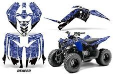 Yamaha Raptor 90 AMR Racing Graphic Kit Wrap Quad Decals ATV 2009-2015 REAPER BU