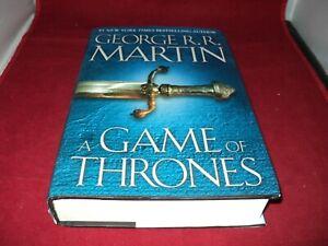 A Game of Thrones by George R R Martin Hardback 1996
