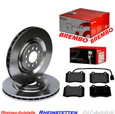Brembo Bremsscheiben SET Vorne mit Bremsbeläge 323mm SEAT Leon 1M1 1.8,2.8 Cupra