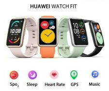 New 2020 HUAWEI Smart Watch FIT GPS AMOLED Blood Oxygen Heart Rate Monitor