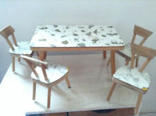 Handmade Miniature Tables for Dolls