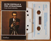 ELVIS COSTELLO / ATTRACTIONS - THIS YEAR'S MODEL (RADAR RAC3) 1978 UK CASSETTE