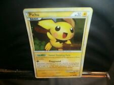 Pokemon PICHU  2010 STAMPED HEARTGOLD/SOULSILVER HOLOFOIL 28/123  MT/NM