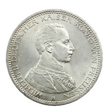 Pièce Argent Allemagne 5 Mark Guillaume II 1913 Superbe Silver Coin Germany