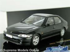 HONDA CIVIC SIR EG9 MODEL CAR 1992 1:43 SCALE IXO MOC178 BLACK MK5 K8