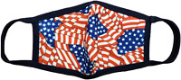 (2 pack) Sookie Washable Protective Reusable Face Mask (Old Glory)
