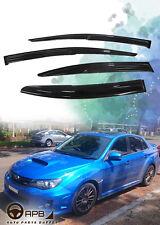 For Subaru WRX 12-18 Mugen Deflector Window Visors Guard Vent Weather Shield