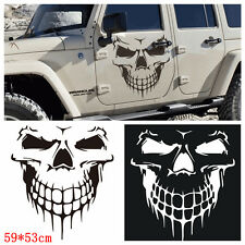 Black Skull Car Hood Decal Vinyl Large Graphic Sticker SUV Truck Tailgate
