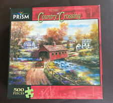 Country Crossing 500 Piece Puzzle