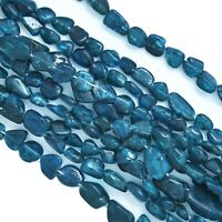 Natural Iolite Tumble Smooth AAA Quality Gemstone Beads Strand 15mm 13 Inches