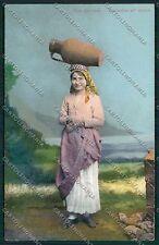 Palermo Costumi Siciliani cartolina QQ0886