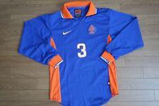 Netherlands Holland 100% Original Soccer Jersey Shirt S 1997 Away LS Rare [1686]
