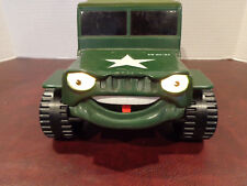 Galoob General Barker Talking Army Jeep 1998 Clean Tested Working