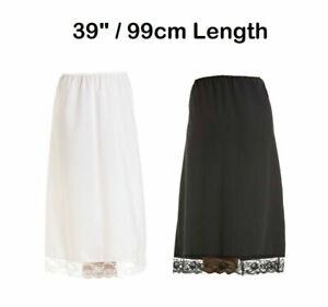 "Stylish Trendy Girls Skirt Half Slip Waist Net Lace Petticoat 28"" , 39"" Length"