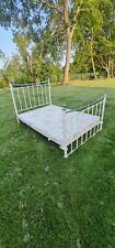 More details for vintage renaissance style cast iron double bed