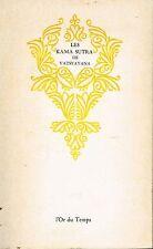livre: les kama sutra de Vatsyana. l'or du temps. G