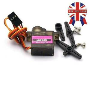Metal Gear High Speed 9g Micro Servo Digital MG90S for RC Helicopter Plane HOT