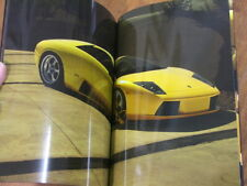2001 Lamborghini Murcielago original 50 page brochure - Italian English German