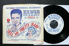 """7"""" Elvis Presley - Tell Me Pretty Baby - USA w/ Pic"""