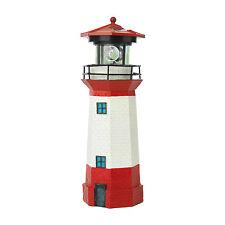 EASYmaxx Solar Leuchtturm Strandlicht LED Leuchtfeuer maritime Deko Garten