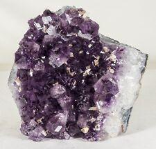 7Lbs Amethyst Crystal Geode Cluster Quartz Specimen - Brazil
