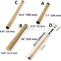 4 Types Replacement Fishing Rod Handle Composite Cork Grip DIY Building Repair