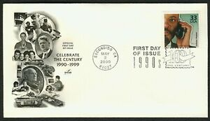 #3191o 33c Cellular Phones, Art Craft FDC **ANY 4=FREE SHIPPING**