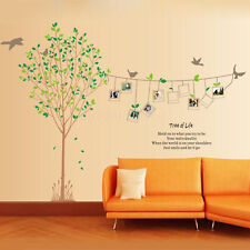 Photo Frame Tree REMOVABLE Wall Stickers Wallpaper PVC Vinyl Home Art Decals DIY