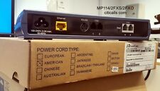 Audiocodes MP114/2S/2O/SIP MP-114 2 FXS 2 FXO ATA VoIP Analog Gateway