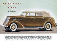 1937 Ford V-8 Convertible Sedan - Promotional Advertising Poster